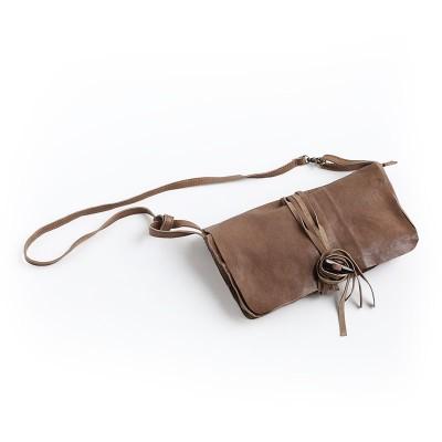 2019 Promotion New Women Silt Pocket Casual Zipper Handmade Small Sheepskin Bag Genuine Leather Shoulder Handbag Womens Packet