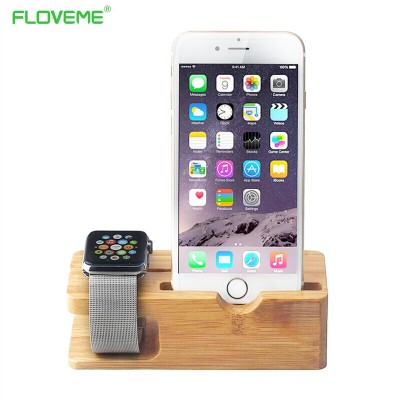 Universal Classic Wooden Mobile Phone Stand Desk Phone Holder for iPad iPhone 6 7 iPhone6 6s se 5 5s Plus