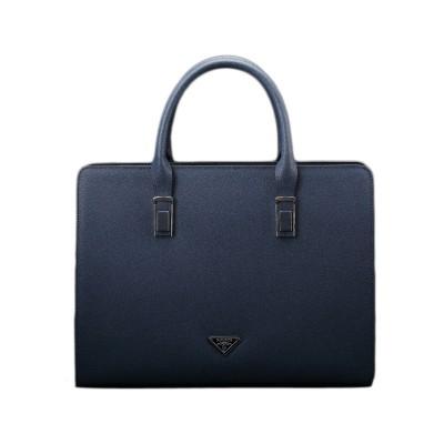 2015 Brand Men Genuine Leather Briefcases Luxury Men's Cowhide Leather Handbag Fashion Leather Laptop Bag Male Business Bag