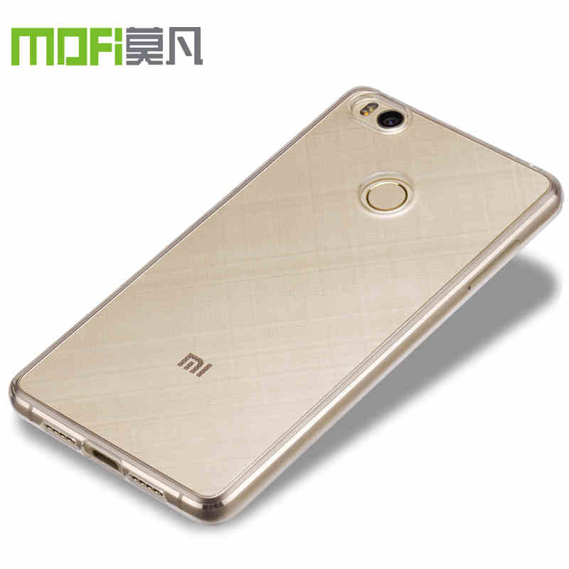 wholesale dealer 59f3c d044f xiaomi mi4s mi 4s case transparent soft clear tpu back cover silicone cover  accessories mofi original xiaomi mi4s 4s 5 inch