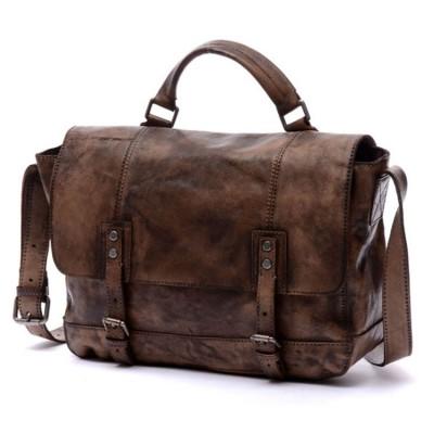 Genuine Leather Handmade Bag For Men Or Women Vintage Handbag Real Cowhide Crossbody Messenger Bags Travel Laptop Bag Totes