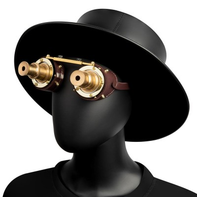 Goggles steampunk glasses Punk Gothic Goggles Cosplay Vintage Rivet Steampunk Goggle kaleidoscope glasses Retro Sunglas