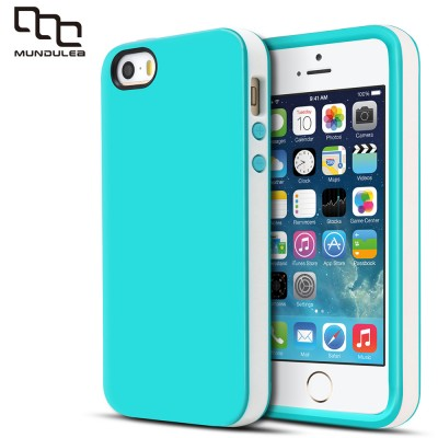 Mundulea TPU For iphone 5 Hybrid Matte Cover for iphone SE Case TPU Silicone Coque For iphone 5S Cases Capa Screen Protector