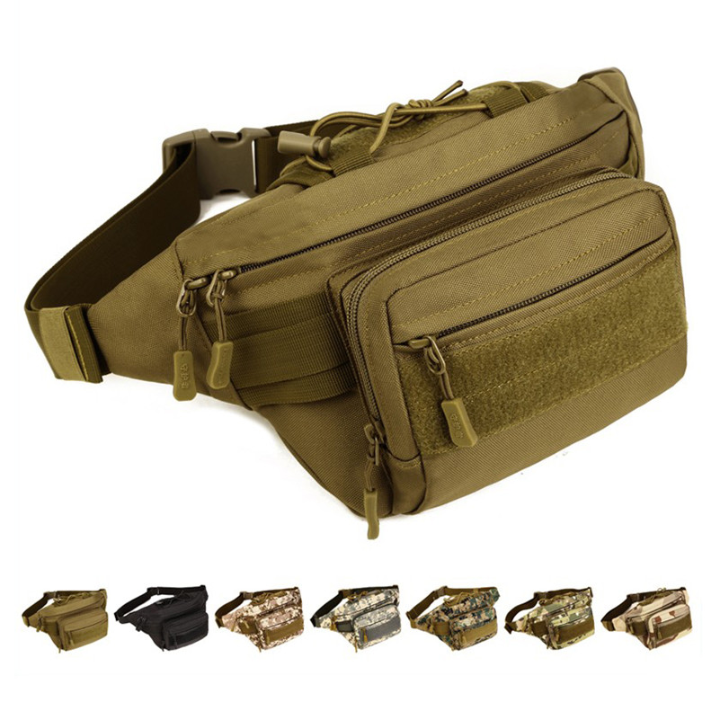 d1debd79dd2 2019 MOLLE Mini Vice Pocket Multi-function Military Bag Men Waist Packs  Waterproof Nylon Waist Bag Fanny Packs Belt Pack D202