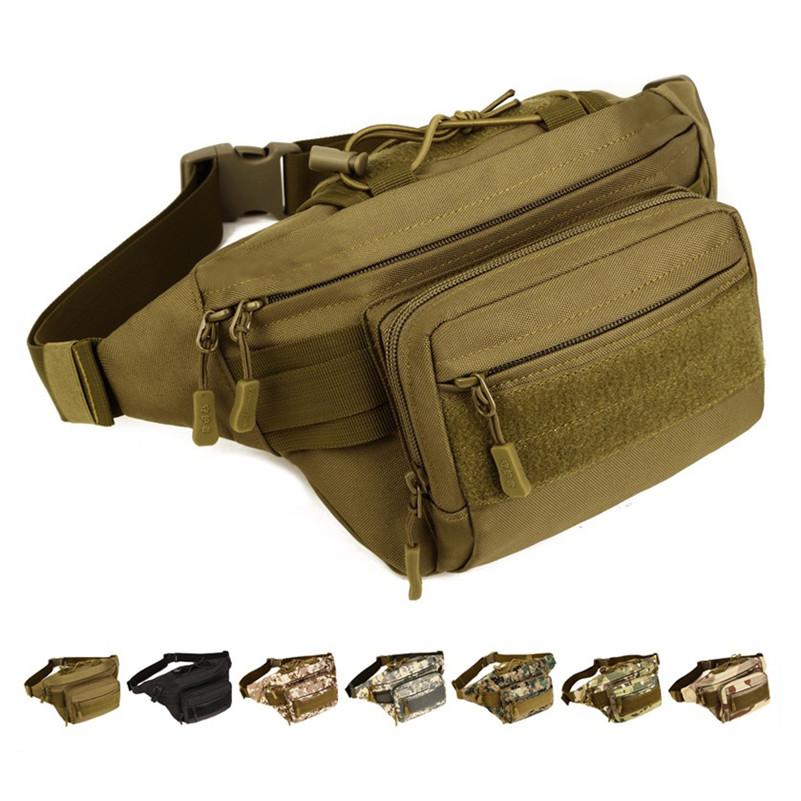 Hip Military Molle Men/'s Bags Tactical Pouch Fanny Waist Bag Belt