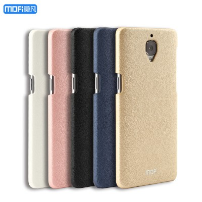 Oneplus 3T case cover oneplus 3 giltter glisten cute gold 3t cover MOFi original hard back case PC brilliant sparkle capa coque