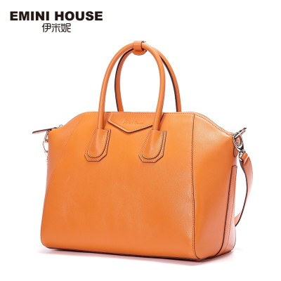 EMINI HOUSE 2017 Vintage Split Leather Handbags Multicolors Shoulder Bag Women Messenger Bags Crossbody Bags For Women 2 Sizes