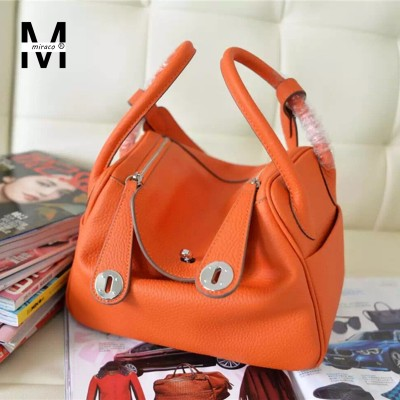 2017 Fashion New Brand Designer Women Casual Tote Bags Cow Genuine Leather Handbag Shoulder Bag Solid Bigs Capacity Female Bags