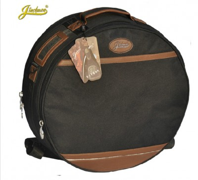 Professional Portable 1415 inches Snare drum package bag cover box Dumb drum shoulders backpack black Carrying Case Drums Gig