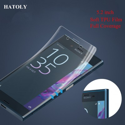 TPU Film for Sony Xperia XZ 3D Full Coverage Soft Screen Protector Film for Sony Xperia XZ TPU Film(Not Tempered Glass)