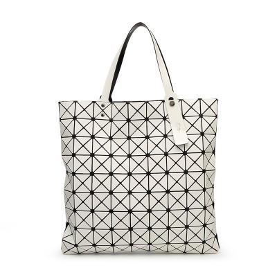 9*9 Women Fashion BAOBAO Bag Geometry Package Sequins Saser Plain Folding High Quality bag