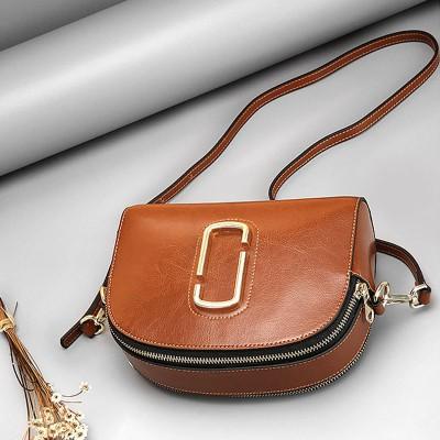 Ellacey Women Genuine Leather Shell Bags Ladies Party Bag Famous Brand Messenger Bag Women's Simple Minimal Design Shoulder Bag