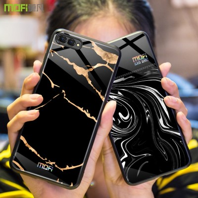 Honor 10 case Mofi Huawei Honor 10 Lite Case Cover Honor 10 Case Back Tempered Glass Phone Case forHuawei Honor 10 Lite  Honor 10