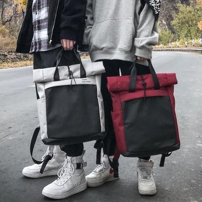 New Fashion Women Backpack Big Casual Nylon Female feminine backpack for teenage girls boys school bag solid backpack