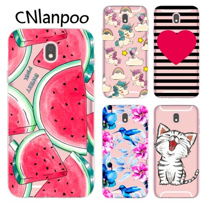 Case For Samsung Galaxy J5 2017 Soft Silicon TPU Phone Back Case Cover For Samsung J5 2017 J530F J530 EU Eurasian Version Fundas