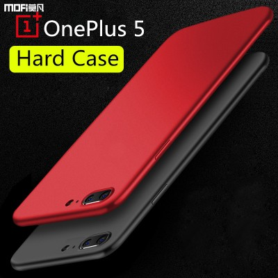 MOFi Case for oneplus 5 case cover pc hard cover one plus 5 case MOFi original 1+5 case oneplus5 cover capa coque funda back black matte pure