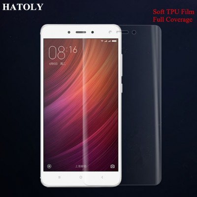 TPU Film for Xiaomi Redmi Note 4X Full Coverage Soft Screen Protector Film for Xiaomi Redmi Note 4X TPU Film (Not Glass)