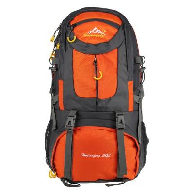 lightweight hiking backpack Large 50L Outdoor Backpack Unisex Travel Climbing Backpacks Mountaineering Bag Nylon Camping Hiking Backpack Sport Back waterproof hiking backpack