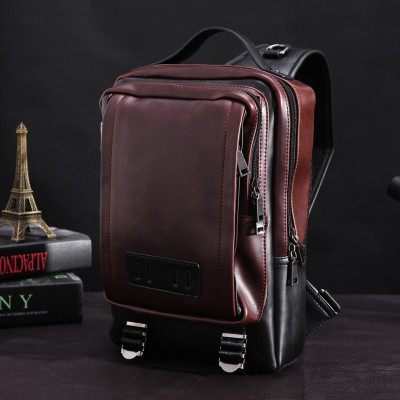 Waist Packs 2019 New Fashion Good PU Leather Waist Packs For Men Casual Multipurpose Traveling Bags smb604