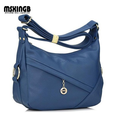 New 2017 Retro Vintage Women's Leather Handbag,women leather handbags ,Women messenger bags fashion shoulder bags