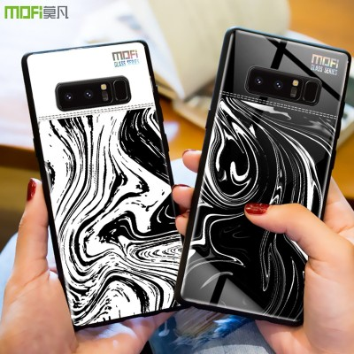 Mofi For Samsung Note 8 Case Cover for Samsung Galaxy Note 8 Case Cover Glass Back Cover Hard Samsung Galaxy Note 8 Phone Case