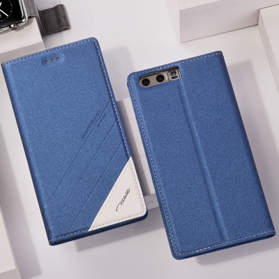 Tscase Phone Case For Huawei Honor 9 Case Original Adorption Stand Flip Case Luxury PU Leather Case For Huawei Honor 9 Phone Protector