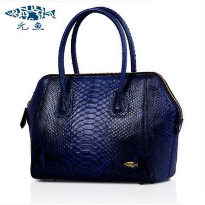 Yuanyu European new python leather female bag leather fashion serpentine shells women handbag ladies handbags