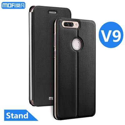 Huawei honor v9 case cover flip case stand honor v9 cover PU leather huawei V9 capa coque funda housing inner TPU black 5.7 inch Phone Cases For huawei