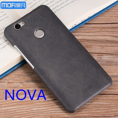 MOFi Case for Huawei nova case cover MOFi original huawei nova back case hard cover leather case pure fashion capa coque funda