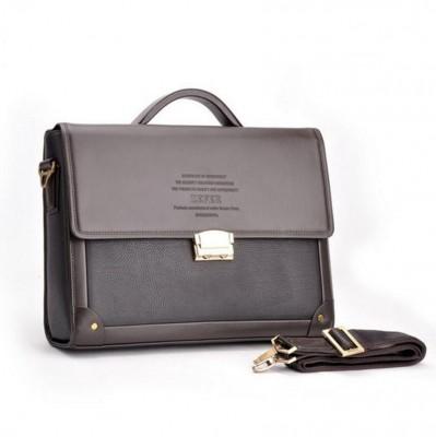 Men Casual Briefcase Business Shoulder Leather Bag Men Messenger Bags Computer Laptop Handbag Bag Men's Travel Bags