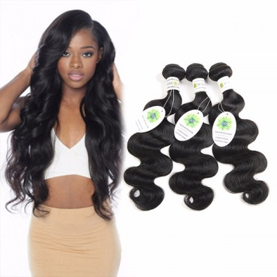 7A Indian Body Wave 3 Bundle Deals Indian Virgin Hair Cheap Virgin Hair Unprocessed Human Hair Bundles Human Hair Weave