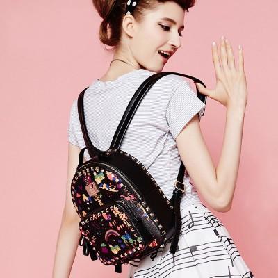 2019 New Fashion Girl Schoolbag Ladies Travel Mini Backpacks Bag Women's Leather Backpack