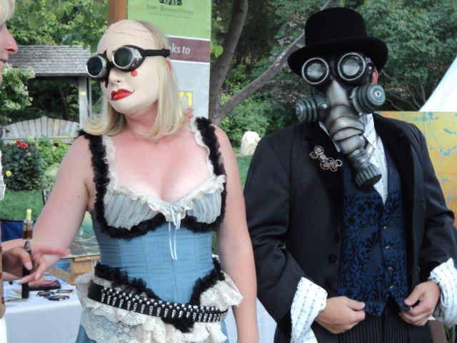 what is Steampunk:a-steampunk-couple-at-carnevale-2012-in-boise-idaho