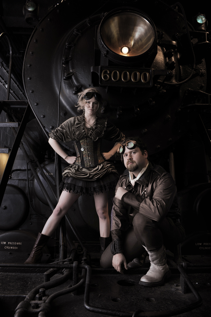 what is Steampunk:a-steampunk-themed-photo