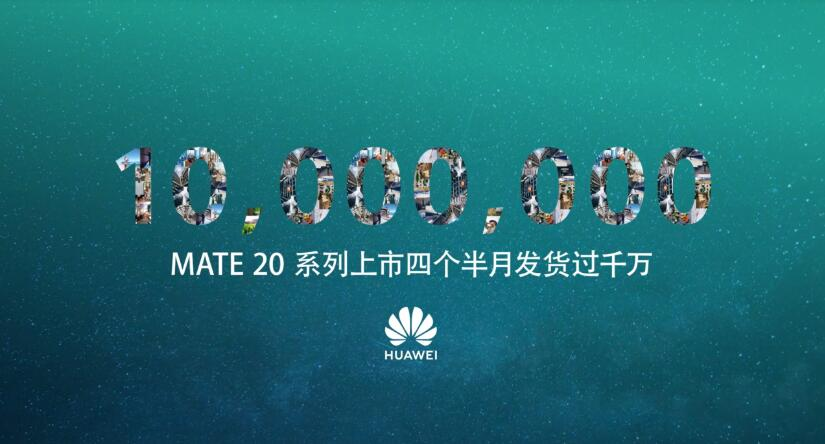 Huawei Mate 20 series shipments cross 10 million units in 4.5 months