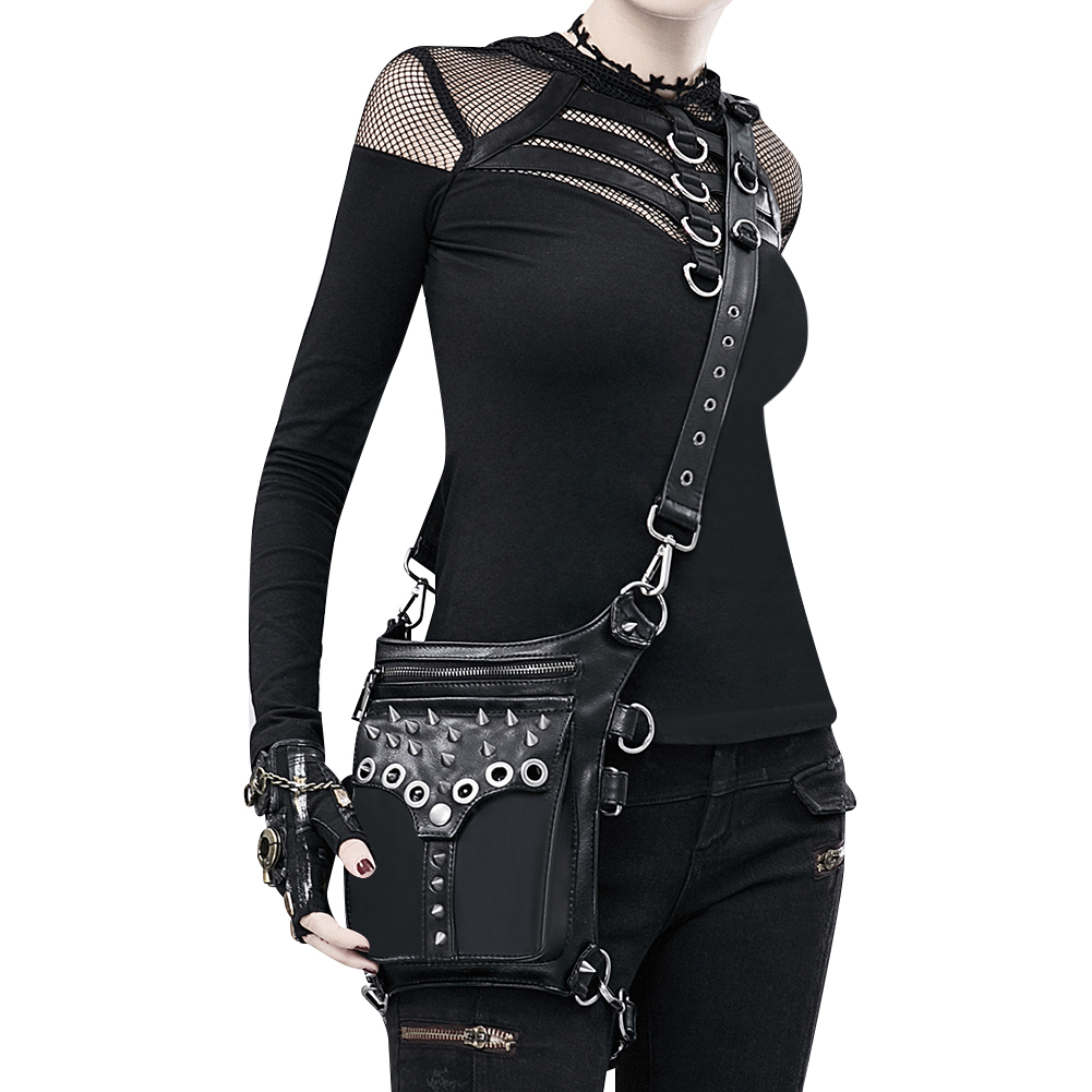 Original Bags Steampunk Thigh Waist Belt Bag Vintage Steampunk Shoulder Crossbody Multifunctional Bag