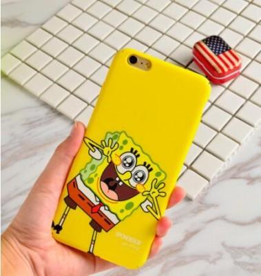 Spongebob Phone Case Spongebob Iphone 6 Case Lovely Cartoon SpongeBob Patrick Frosted PC Phone Case Cover for Apple iPhone 6 6S 6S 7 plus