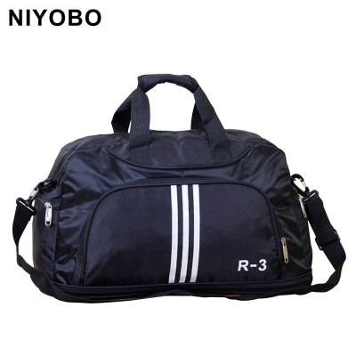 Men Travel Bags Large Capacity Travel Duffle Bags Casual Nylon Waterproof Luggage Duffle Bag Shoulder Bag PT1010