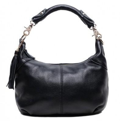 6 Colors 100% Real Skin Women GENUINE LEATHER Handbag Tassels HOBO Shoulder bag Calfskin crossbody bags Fashion FOR girl  Z013
