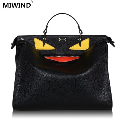 1monster bags handbags women men famous brand top-handle bag luxury designer Business laptop bag women shoulder crossbody bolsas