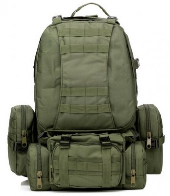 IMC 55L 3D Molle Military Backpack Rucksack Trekking Bag Jungle Camouflage