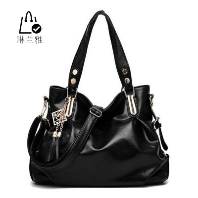 Fashion women shoulder bag High quality lady classic leisure bags tassel Hobos handbags  madam pu Leather Crossbody Bags Z-36