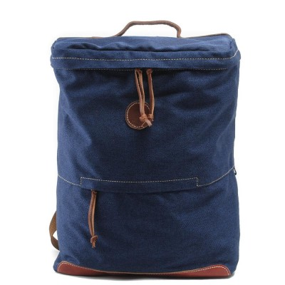 17 Inch Laptop Bag Large Mochila Masculina New Male Backpacks Crazy Horse leather Canvas Backpack Men Travel Vintage Backpack