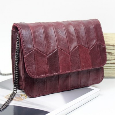 New 2019 Famous Flap Designed Women Real Leather Handbags Genuine Bag Quilted Double Flaps Lambskin Cover Shoulder Bags