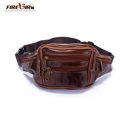 2017 new style!men Multifunction travel bags genuine leather funny chest pack men waist pack hiqh quality men waist bags HN209
