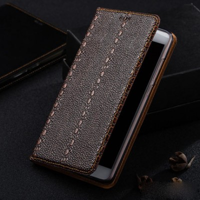 Phone Cases For xiaomi mi max 2 Vintage Genuine Leather Flip Case For XiaoMi Mi Max 2 Max2 Luxury Cover Full Body Protection Mobile Phone Case