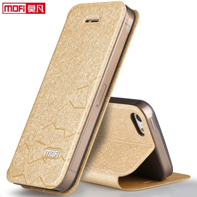 MOFI Case for iPhone 5s 5 SE iPhone 5S case cover leather flip back silicon luxury protective accessory case for iPhone 5S 6 6S case