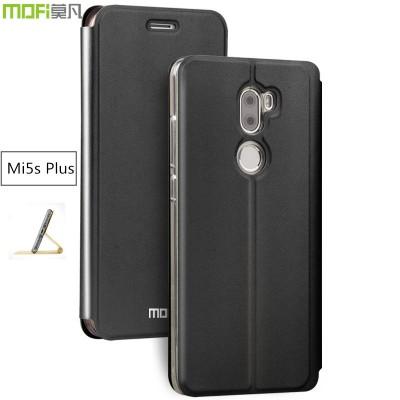 """Xiaomi Mi5s plus case MOFi original xiaomi 5s plus flip cover leather holder Mi 5s plus gitter luxury capa coque funda 5.7"""""""
