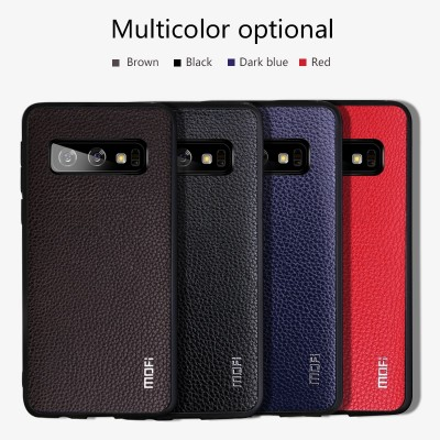 Mofi Case For Samsung Galaxy S10 For Samsung Galaxy S10 Plus  For Samsung Galaxy S10 E Case Cover Pu Leather Business Style Samsung Phone Case