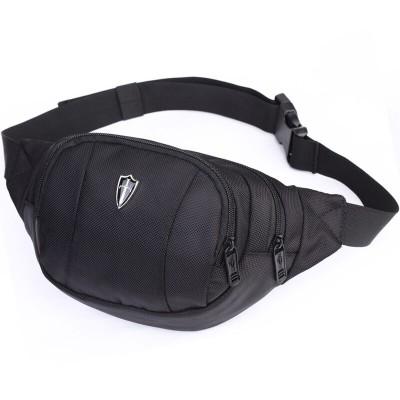 COOL Fanny Pack waist bag men/men fanny pack/belt bag/fashion waist pack /waterproof nylon bum bag men/hip pack/V5001 black/blue